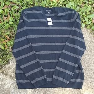NWT Cashmere & Cotton Banana Republic sweater LG